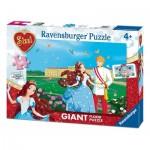 Ravensburger-05488 Riesen-Bodenpuzzle - Sissi