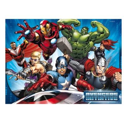 Ravensburger-05489 Riesen-Bodenpuzzle - Avengers