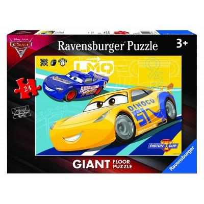 Ravensburger-05518 Riesen-Bodenpuzzle - Cars 3