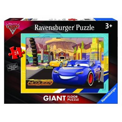 Ravensburger-05519 Riesen-Bodenpuzzle - Cars 3