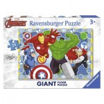 Ravensburger-05523 Riesen-Bodenpuzzle - Marvel