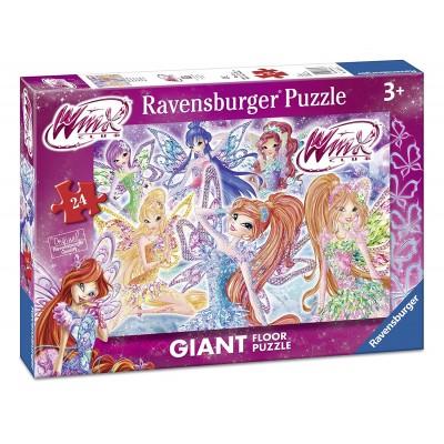 Ravensburger-05526 Riesen-Bodenpuzzle - Winx