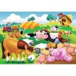 Ravensburger-05609 My First Outdoor Puzzles - Liebe Bauernhoftiere