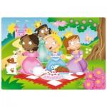 Ravensburger-05612 My First Outdoor Puzzles - Süße Prinzessinnen