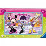 Ravensburger-06049 Rahmenpuzzle - Minnie