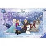 Ravensburger-06127 Rahmenpuzzle: Frozen - Die Eiskönigin