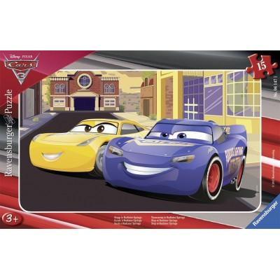 Ravensburger-06147 Rahmenpuzzle - Cars 3