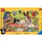 Ravensburger-06151 Rahmenpuzzle - Der Maulwurf