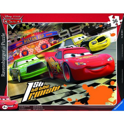 Puzzle  Ravensburger-06395 Cars: Der Beste!