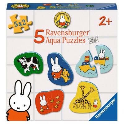Ravensburger-06831 5 Aqua Puzzles