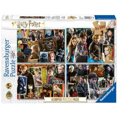 Ravensburger-06832 4 Puzzles - Harry Potter