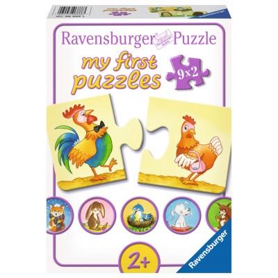 Ravensburger-06888 My First Puzzle - Viele Gegensätze