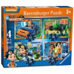 Ravensburger-06983 4 Puzzles - Rusty Rivets
