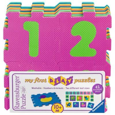 Ravensburger-06985 My First Play Puzzles - Über Zahlen und Tiere