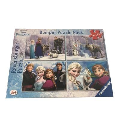 Ravensburger-06992 Bumper Pack 4 Puzzles - Frozen