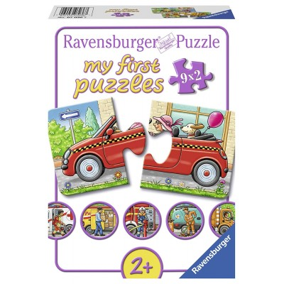 Ravensburger-07036 9 Puzzles - My First Puzzles