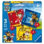 Ravensburger-07057 3 Puzzles - Paw Patrol