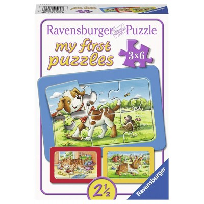 Ravensburger-07062 9 Puzzles - My First Puzzles