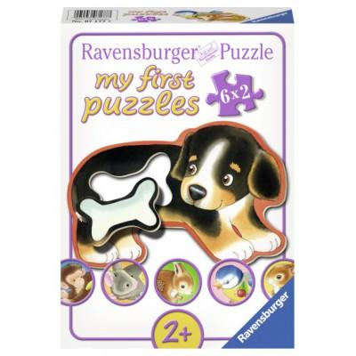 Ravensburger-07177 6 Puzzles - Feine Leckerbissen