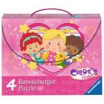 Ravensburger-07353 4 Puzzles - Chloe