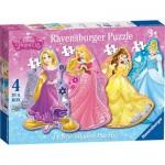 Puzzle  Ravensburger-07398 XXL Teile - Disney Princess