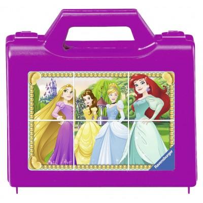 Ravensburger-07428 Würfelpuzzle - Disney Princess