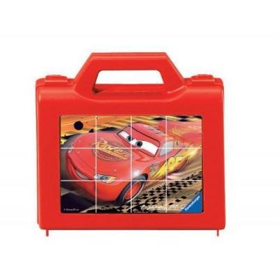 Ravensburger-07489 Würfelpuzzle - Disney Cars