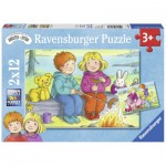 Ravensburger-07588 2 Puzzles - Goya heraus