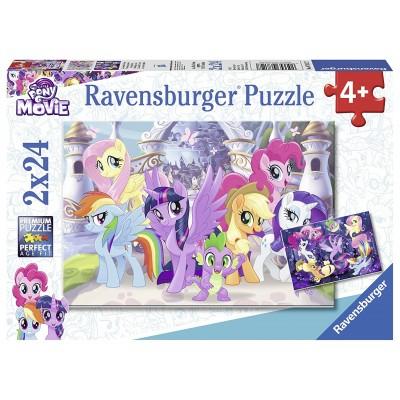 Ravensburger-07812 2 Puzzles - My Little Pony