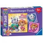 Ravensburger-08008 3 Puzzles - Paw Patrol