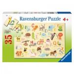 Puzzle  Ravensburger-08761 A-Z Animals (auf Englisch)