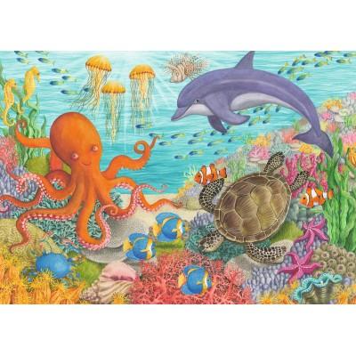 Puzzle  Ravensburger-08780 Ocean Friends