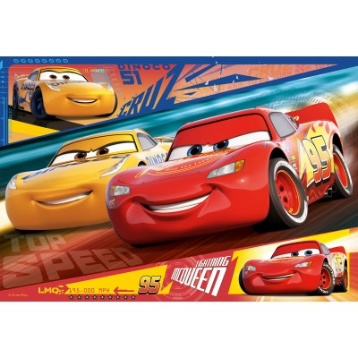 Puzzle  Ravensburger-08792 Disney - Cars