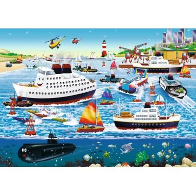 Puzzle  Ravensburger-08793 Happy Harbour