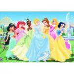 Puzzle  Ravensburger-08872 Disney Prinzessinnen