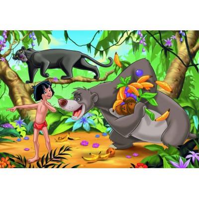 Puzzle  Ravensburger-08894 Dschungelbuch