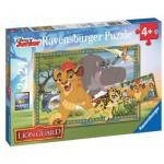 Ravensburger-09104 2 Puzzles - The Lion Guard
