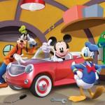 Ravensburger-09247 3 x 49 Teile Puzzleset - Alle lieben Mickey