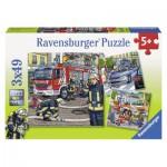 Ravensburger-09335 3 Puzzles - Hilfe