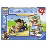 Ravensburger-09369 3 Puzzles - Paw Patrol