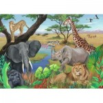 Puzzle  Ravensburger-09600 Safari