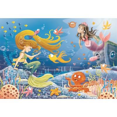 Puzzle  Ravensburger-09638 Unterwassergeschichten