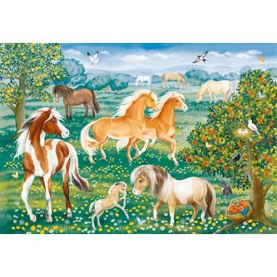 Puzzle  Ravensburger-09639 Mustang