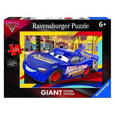 Ravensburger-09766 Riesen-Bodenpuzzle - Cars 3