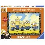 Ravensburger-09770 Riesen-Bodenpuzzle - Minions
