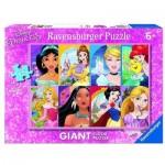 Ravensburger-09789 Riesen-Bodenpuzzle - Disney Princess