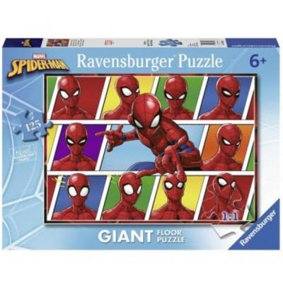 Ravensburger-09790 Riesen-Bodenpuzzle - Spiderman