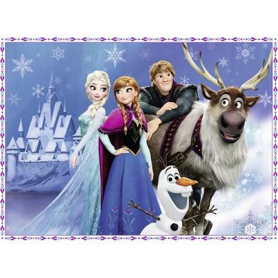 Puzzle Ravensburger-10027 XXL Teile: Frozen - Die Eiskönigin