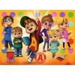 Puzzle  Ravensburger-10050 XXL Teile - Alvin und die Chipmunks