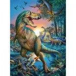 Puzzle  Ravensburger-10052 XXL Teile - Dinosaurier